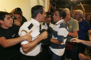 APTOPIX Argentina Airport Strike