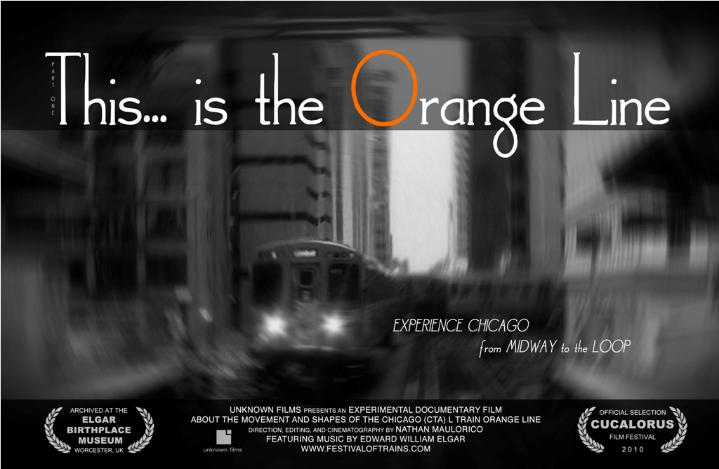 This…is the Orange Line (In Black & White)