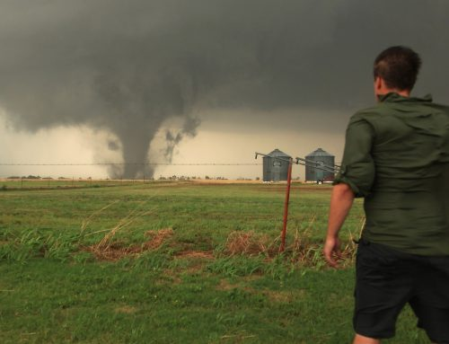 A Tornado Among The Thunderstorms